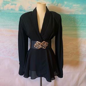 Marnie West Vintage jacket With Shoulder pads